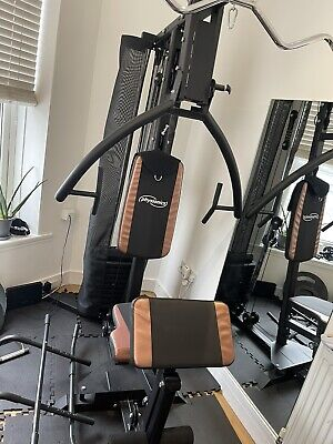 Home Multi Gym 120 Kg ,bench Press,squat Rack,90 Kg Weigth With Olympic Bar • 360£