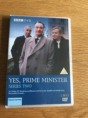 Yes, Prime Minister - Series 2 - Complete (DVD, 2005, 2-Disc Set) • 0.75£