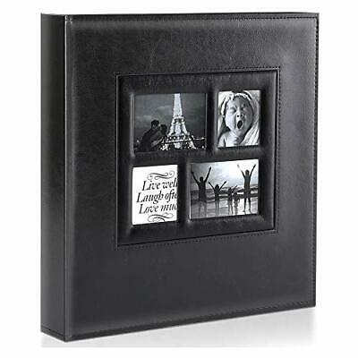 Benjia Photo Album - 1000 Pockets 6x4 Photos - Extra Large Size Leather Cover • 41.99£