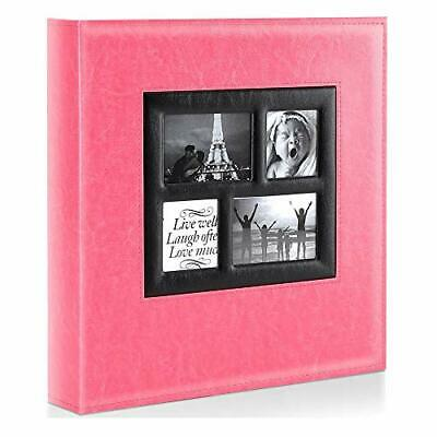 Benjia Photo Album - 1000 Pockets 6x4 Photos - Extra Large Size Leather Cover • 42.99£