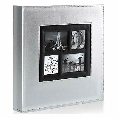 Benjia Photo Album - 1000 Pockets 6x4 Photos - Extra Large Size Leather Cover • 39.99£