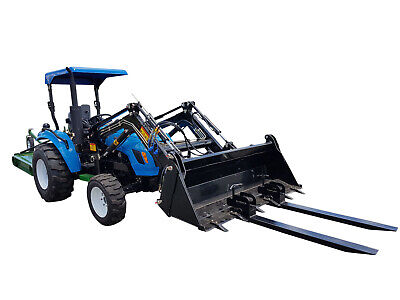 AU390 • Buy Clamp On Pallet Forks For Tractor Front End Loader -AgKing Tractors & Implements