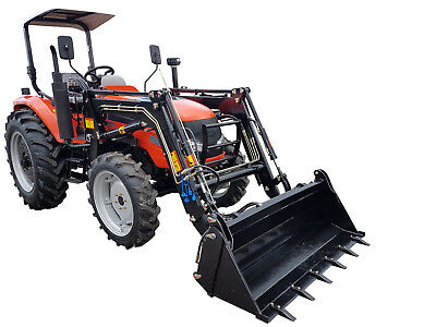 AU29990 • Buy 70hp Tractor 4WD With FEL And 4 In 1 Bucket. Flat Floor & 3 Years Warranty