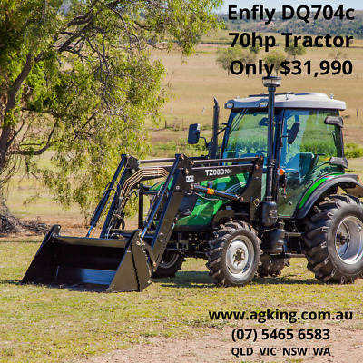 AU31990 • Buy New ENFLY DQ704 70hp Tractor For Sale 70hp Tractor With FEL Air Con Cabin