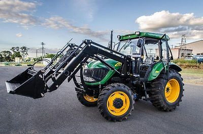 AU46990 • Buy New DQ904 90hp ENFLY Tractor For Sale Air Con Cabin 4x1 Front End Loader