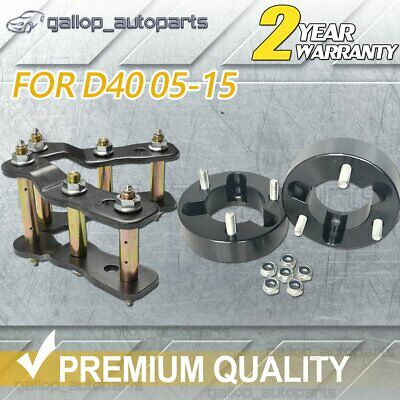 AU155 • Buy 25mm 1.5  Strut Spacer 2  Rear Extended Shackle Lift Kit For Navara D40 05-15