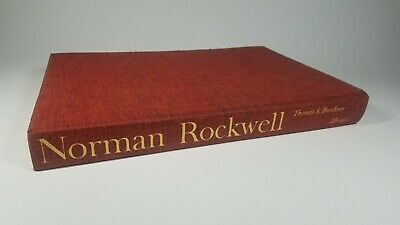 $ CDN40.81 • Buy LARGE NORMAN ROCKWELL Coffee Table Book 1st Edition 1970 Thomas S. Buechner