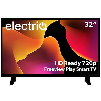 £187.96 • Buy ElectriQ 32 Inch HD Ready LED TV With Built In DVD Player