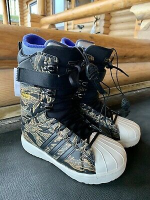 BNWT Adidas Superstar ADV Snowboarding Boots Size 9 UK RRP £260 • 125£