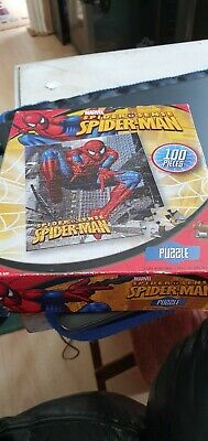 Marvel Spiderman 100 Piece Jigsaw Puzzle, Used Once , All Pieces Complete  • 4.99£