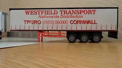 1.50 Scale Trailer Unit      'WESTFIELD Transport' Special Price • 2.75£