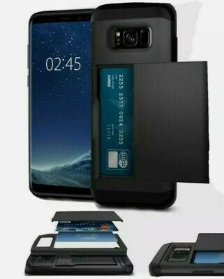 Credit Card Holder Phone Case Cover For Samsung Galaxy S8 House Clearance 99p • 0.99£