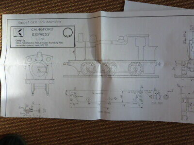 Chingford Express Gauge 1 Drawing Live Steam • 4.95£