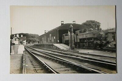 RWY827 - Locomotive 1646 At HELMSDALE Railway Station Shed - Real Photo • 4.99£