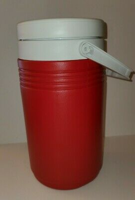 $16.99 • Buy Coleman 1 Gallon Jug Cooler Water Ice Chest Faucet Drink Thermos Insulated Red