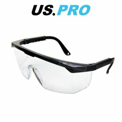 £6.35 • Buy US PRO Tools Safety Glasses UV Protection Eye Protection PPE Adjustable Fit 2988