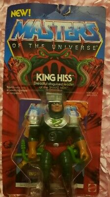 $163 • Buy Masters Of The Universe KING HISS MOC 1985 Vintage