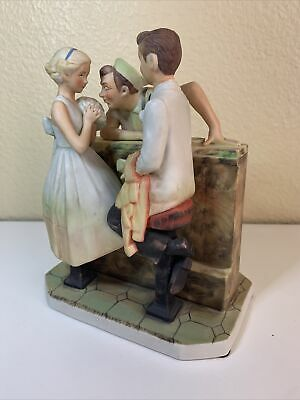 $ CDN32.44 • Buy Norman Rockwell  After The Prom Figurine From Saturday Evening Post Cover