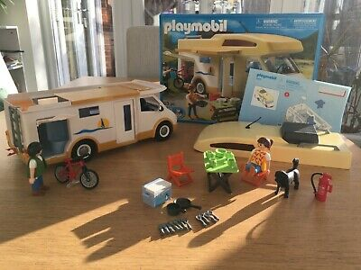 Playmobil Campervan 5928 Excellent Condition With Box • 5£