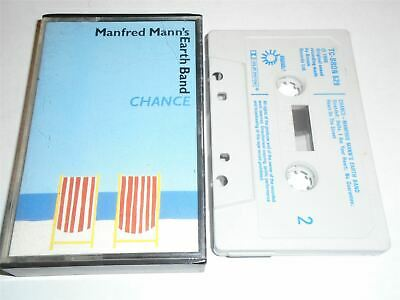Manfred Mann Earth Band - Chance BRONZE TCBRON529 Blue Text Cassette Tape • 5.99£