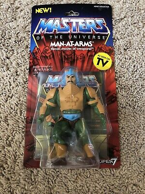 $24.99 • Buy Masters Of The Universe Man-At-Arms Action Figure MOC Super 7 Vintage Carded