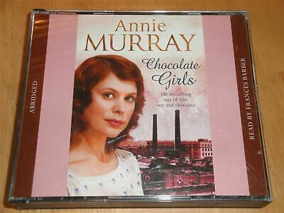 Annie Murray – Chocolate Girls Read By Frances Barber Double Audiobook CD Set • 5.99£