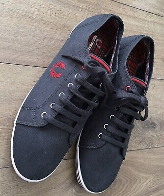 Fred Perry Fabric Shoes Traners Size 9.5 • 24.99£