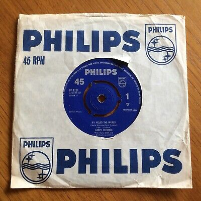 Harry Secombe  If I Ruled The World/Look Into Your Heart 45 Single Record BF1261 • 2.50£