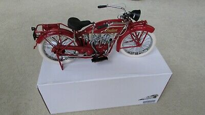 1920 G20 Indian Scout Motorcycle 1:6 Scale Custom Labeled Wood Display Stand Box • 423.46£