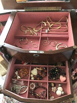 $ CDN2.58 • Buy Vintage & Current Assorted Jewelry Lot Bracelets/Watches/Brooches/Earrings 5 Lbs