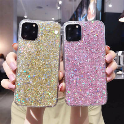 AU11.88 • Buy For IPhone 12 Pro Max Mini 11 XR Women Bling Glitter Shockproof Back Case Cover