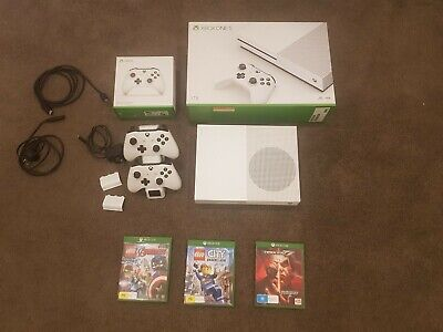 AU212.40 • Buy Xbox One S 1tb, 2 Wireless Controllers Amd  3 Games (Excellent Condition)
