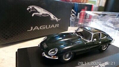 Jaguar E Type Car Model Coupe Green 1:43 Scale Ixo Sports Collection 4641102 T3 • 24.99£