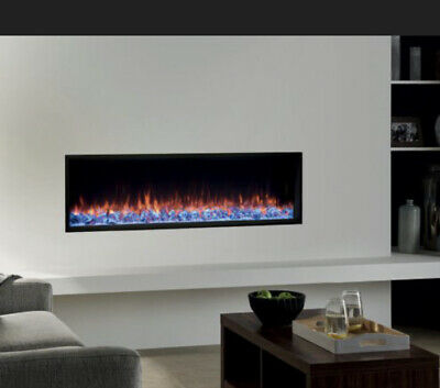 Gazco Electric Fire Glass Crystal Set Small And Large Crystals EXTRAS • 50£