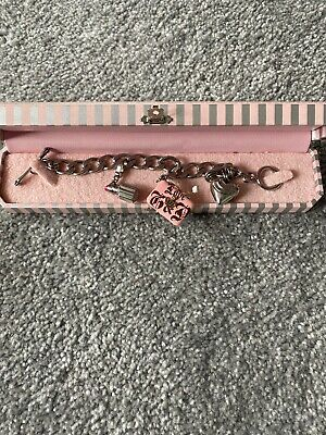 Juicy Couture Bracelet Silver Colour With Charms  • 60£