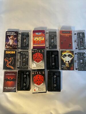 Bundle Job Lot 8 X Cassette Tapes 80's And 90's Hits Beastie Boys Red Hot • 2.50£
