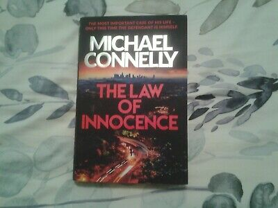 Michael Connelly. The Law Of Innocence. HB. • 1.25£
