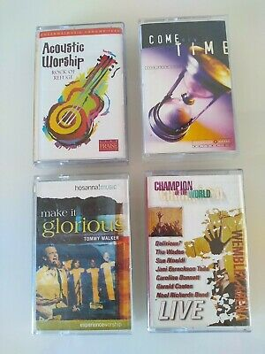 Cassette Tapes X 4 Christian Music • 1.25£