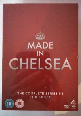 Made In Chelsea Complete Series 1-5 Dvd Boxset 14 Discs Brand New & Sealed • 0.99£