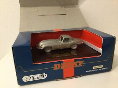 Matchbox Dinky Collection Jaguar E-Type Pewter Model In 1/43 Scale DY921 • 8.99£