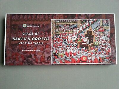 Chaos At Santas Grotto  – Comic 1000piece Jigsaw - COMPLETE • 5£
