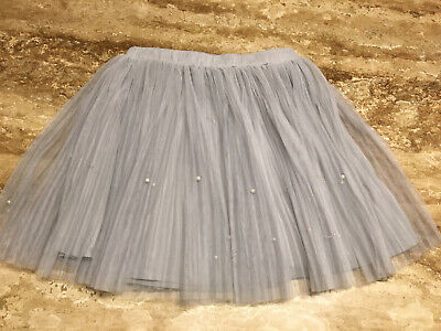 Yumi Girls Grey Tutu Skirt  Age 11/12 152 Cms • 0.99£