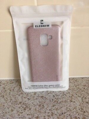 ELESNOW - ROSE PHONE CASE - FOR GALAXY A8 - NEW & SEALED - 99p • 0.99£