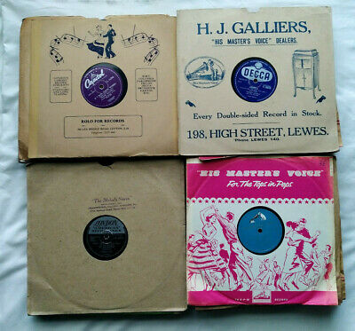 £7.99 • Buy Pick Any 4 From List POP VOCAL 78rpm 10  Gramophone Records Joblot Bundle Decca