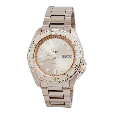 $ CDN257.35 • Buy Seiko 5 Sports Automatic Rose Gold-tone Stainless Steel Men's Watch SRPE72