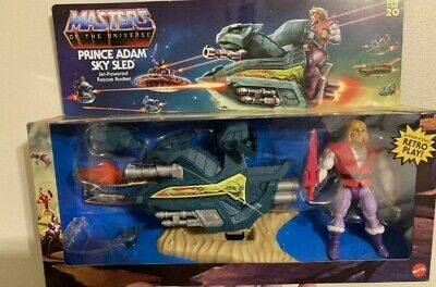 $44.95 • Buy Masters Of The Universe Origins PRINCE ADAM SKY SLED Mattel New For 2020 Walmart