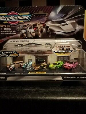 Micro Machines Series 2 #06 Garage Icons With Ultra Rare #0128 Recluse Chase Car • 9.01£