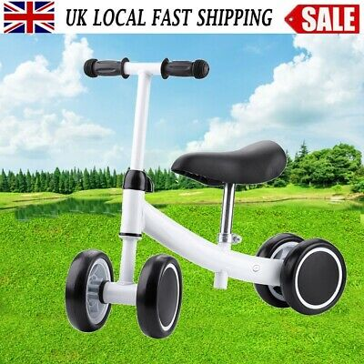 4 Wheels Kids  Bike Toddler Push Scooter Baby Walker Tricycle Toy High Quality • 17.99£