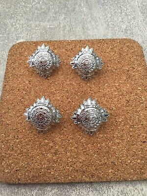 Ex Police Chrome  Police Inspectors Pips Badges X 4 • 2.50£
