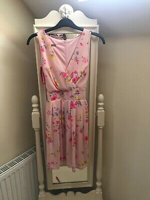Pink Floral Wal G Dress Size S BNWT • 6£